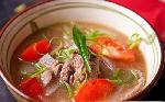 Sour ribs soup