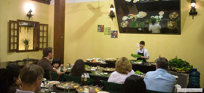 Pro cooking class in Hoi An